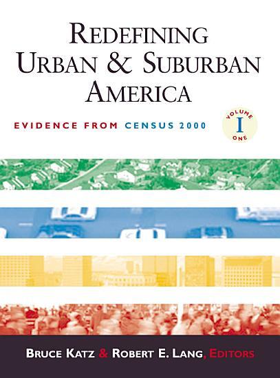 Redefining Urban and Suburban America PDF