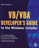 VB VBA Developer s Guide to the Windows Installer PDF