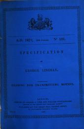 Specifications of Inventions...: Record 1: 1617-1875, Volume 2, Issues 101-187