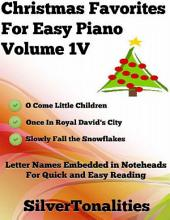 Christmas Favorites for Easy Piano Volume 1 V