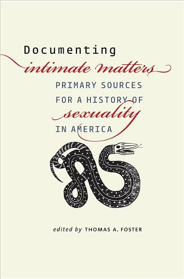 Documenting Intimate Matters PDF