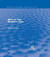 Man in the Modern Age  Routledge Revivals  PDF