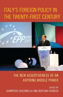 Italy s Foreign Policy in the Twenty First Century PDF