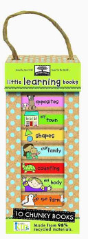 Green Start Book Towers  Little Learning Books