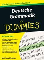 Deutsche Grammatik f  r Dummies PDF
