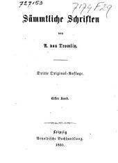 Sämmtliche Schriften: Band 1