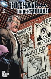 Gotham Underground (2007-) #7