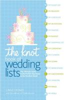 The Knot Book of Wedding Lists PDF