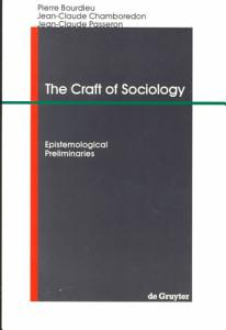 The Craft of Sociology Book