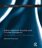 Indian National Security and Counter Insurgency PDF