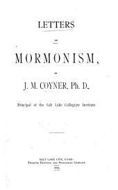Letters on Mormonism