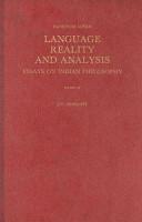 Language  Reality  and Analysis PDF