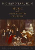 Music in the Nineteenth Century PDF
