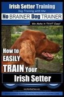 Irish Setter Training
