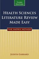 Health Sciences Literature Review Made Easy PDF