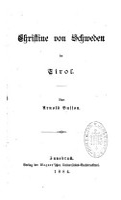 Christine von Schweden in Tirol PDF