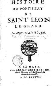 Histoire du pontificat de Saint Léon le Grand