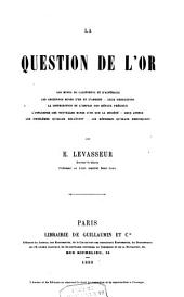 La question de l'or