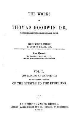 The Works of Thomas Goodwin PDF