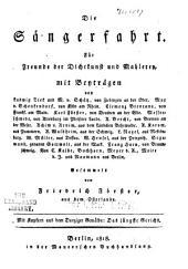 Die Sängerfahrt: für Freunde der Dichtkunst und Mahlerey, mit Beyträgen