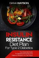 Insulin Resistance Diet Plan For Type 2 Diabetics Book PDF