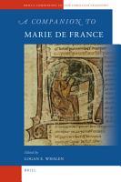 A Companion to Marie de France PDF