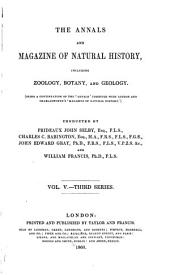 The Annals and Magazine of Natural History: Including Zoology, Botany, and Geology