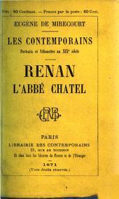 Renan, l'abbé Chatel