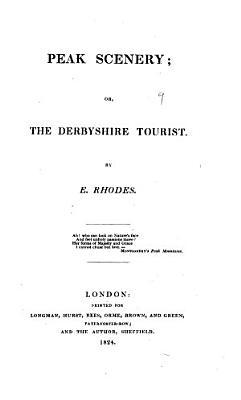 Peak Scenery  Or  The Derbyshire Tourist