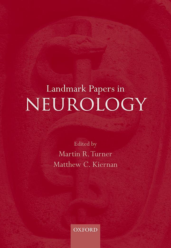 Landmark Papers in Neurology