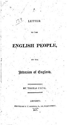 A Letter to the English People  on the Invasion of England PDF
