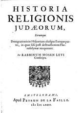 Historia religionis Iudaeorum