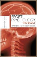 Sport Psychology  The Basics PDF