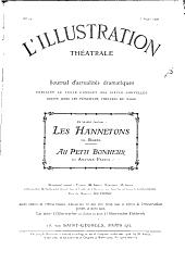 Les hannetons: comédie en trois actes, de m. Brieux, représentée pour la première fois au théâtre de la Renaissance le 2 février 1906 ...