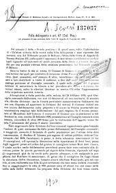 Folla delinquente e art. 47 (Cod. pen.) a proposito di une sentenza della Corte di Appello di Venezia