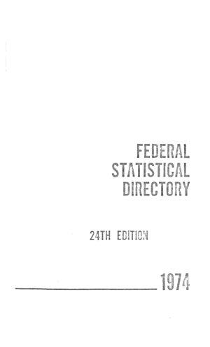 Federal Statistical Directory