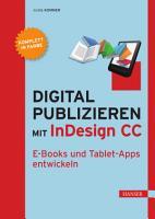 Digital publizieren mit InDesign CC PDF