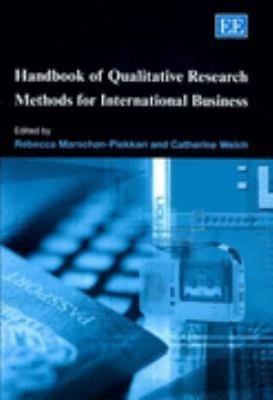 Handbook of Qualitative Research Methods for International Business PDF
