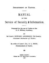 Manual of the Service of Security and Information