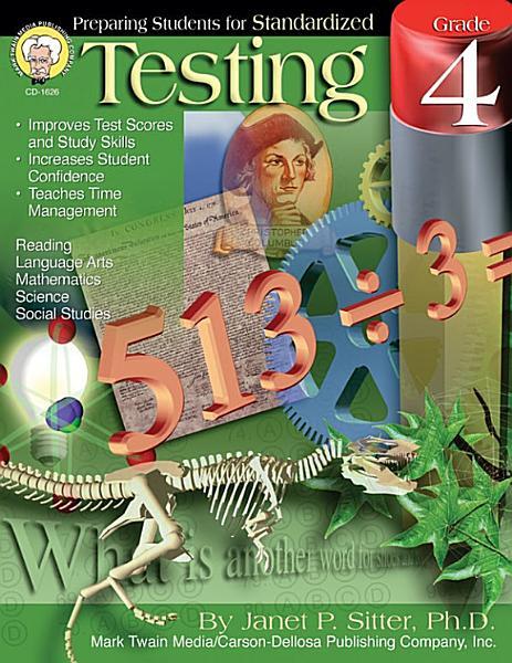 Preparing Students for Standardized Testing  Grade 4 PDF
