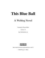 This Blue Ball: A Weblog Novel