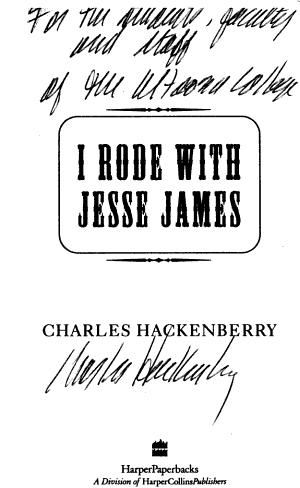 I Rode with Jesse James