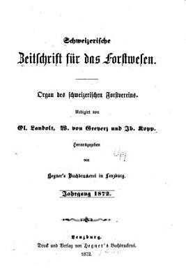 Schweizerische Zeitschrift f  r Forstwesen PDF