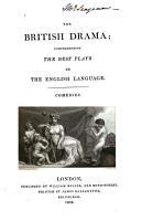 The British Drama  Comedies  2 v PDF