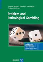 Problem and Pathological Gambling PDF