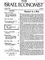 The Israel Economist