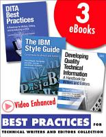 Best Practices for Technical Writers and Editors  Video Enhanced Edition  Collection  PDF