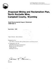 Proposed mining and reclamation plan, North Rochelle Mine, Campbell County, Wyoming: Volumes 1-2