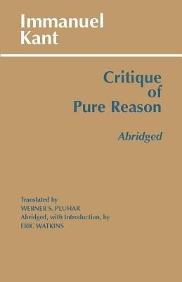 Critique of Pure Reason  abridged