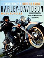Harley Davidson Motorcycles PDF
